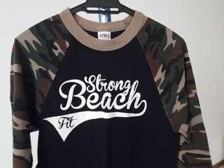 Army sleeve tshirt
