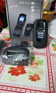 PEAQ Big Button Mobile phone PMP300老人家手機(英文機)