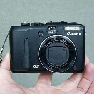 🚚 Canon PowerShot G9 隨身相機 旅遊相機
