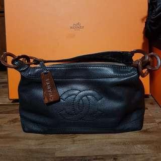 Chanel Cavier Skin Shoulder Bag (Authentic)