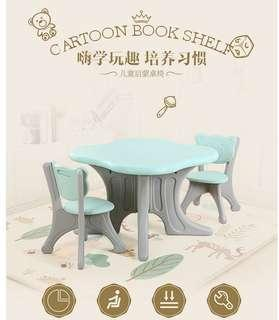 🚚 Free delivery 1+2 Kids table set