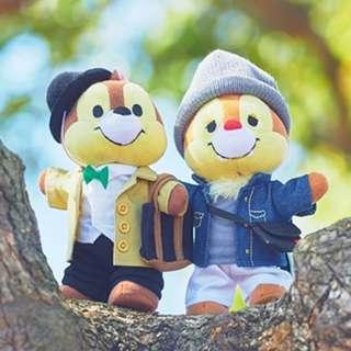 日本迪士尼 Nuimos chip & dale