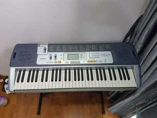 Casio Keyboard LK-110 Key Lighting System