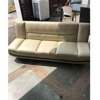Great condition Leather sofabed