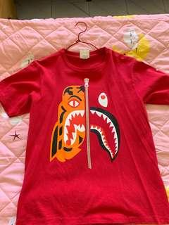 Bape shirt Chinese New Year edition Size S (100% AUTHENTIC)