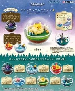 [現貨] Rement Pokemon Terrarium 4