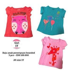 Girls Clothes 1Y