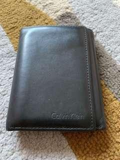 Calvin Klein Trifold Wallet with key fob