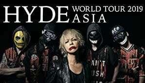 HYDE WORLD TOUR 2019 ASIA