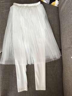 GU內搭褲紗裙