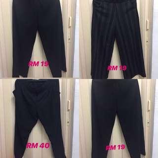 Big size pants from RM19!