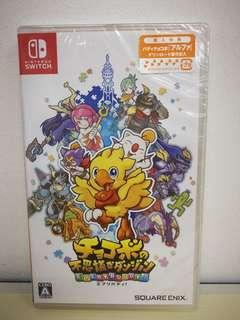 🚚 (Brand New) Nintendo Switch Chocobo's Mystery Dungeon Every Buddy (English and Japanese)
