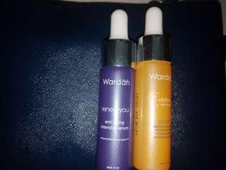 Wardah Serum Vitamin C & Wardah Serum Anti Aging