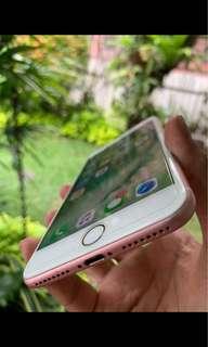 Phone 7 plus 128 gb rose gold