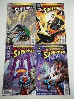 🚚 Superman City of the Future (1987 2nd Series) Comics Set