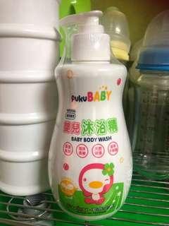 🚚 全新puku嬰兒沐浴精350g
