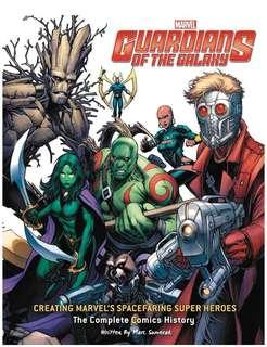 [NEW, SEALED] Guardians of the Galaxy: Creating Marvel's Spacefaring Super Heroes: The Complete Comics History