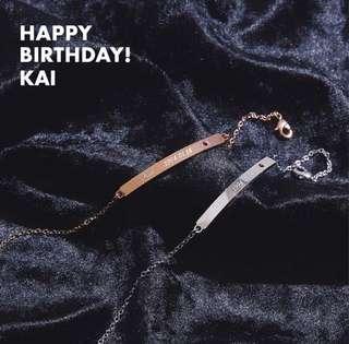 [PO] EXO XiuMin Birthday Bracelet