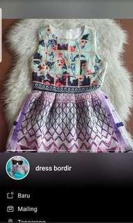 Dress bordir PO BKK