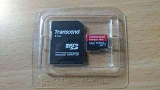 創見64g SD卡
