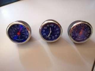 Temp/Clock/Hydro meter