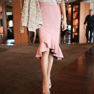 🚚 Mermaid skirt (baby pink)