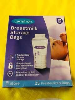 Breastmilk storage bags 奶袋