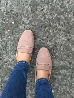 🚚 粉色樂福鞋