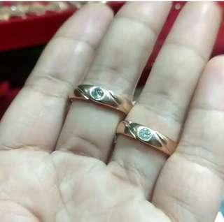 Cincin couple nya say, bisa buat tunangan atau nikahan