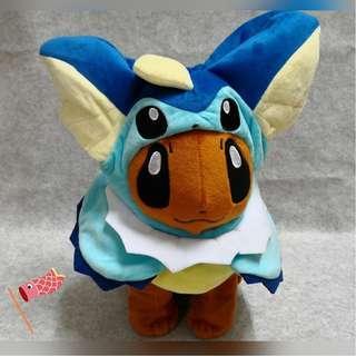 Pokemon Eevee Cosplay Vaporeon Plush Toys