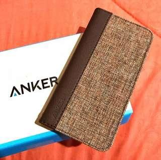 Toughshell Elite Sleeve Leather Case for Iphone 7 by Anker