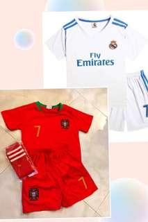 🚚 Kids Soccer Jersey - Portugal / Real Madrid