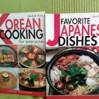 Korean Cooking for everyone and Favorite Japanese Dishes Quick & Easy