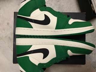Jordan 1 mid pine green