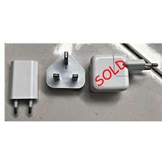 Kepala Charger Adaptor iPhone/iPad Ori