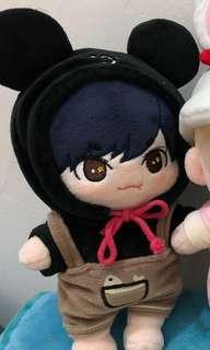Mingyu seventeen doll