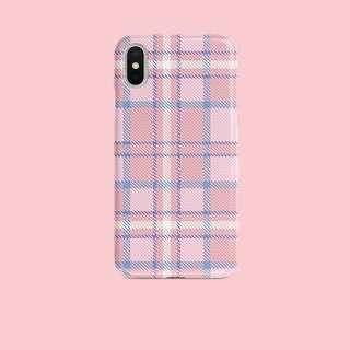 🚚 [PO] Pink Plaid iPhone Cover