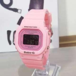 Jam tangan CASIO  BABY G GLS 500 pink Anti Air