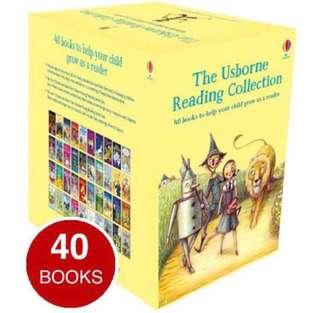 🚚 USBORNE Young Reading Collection (40 Books)
