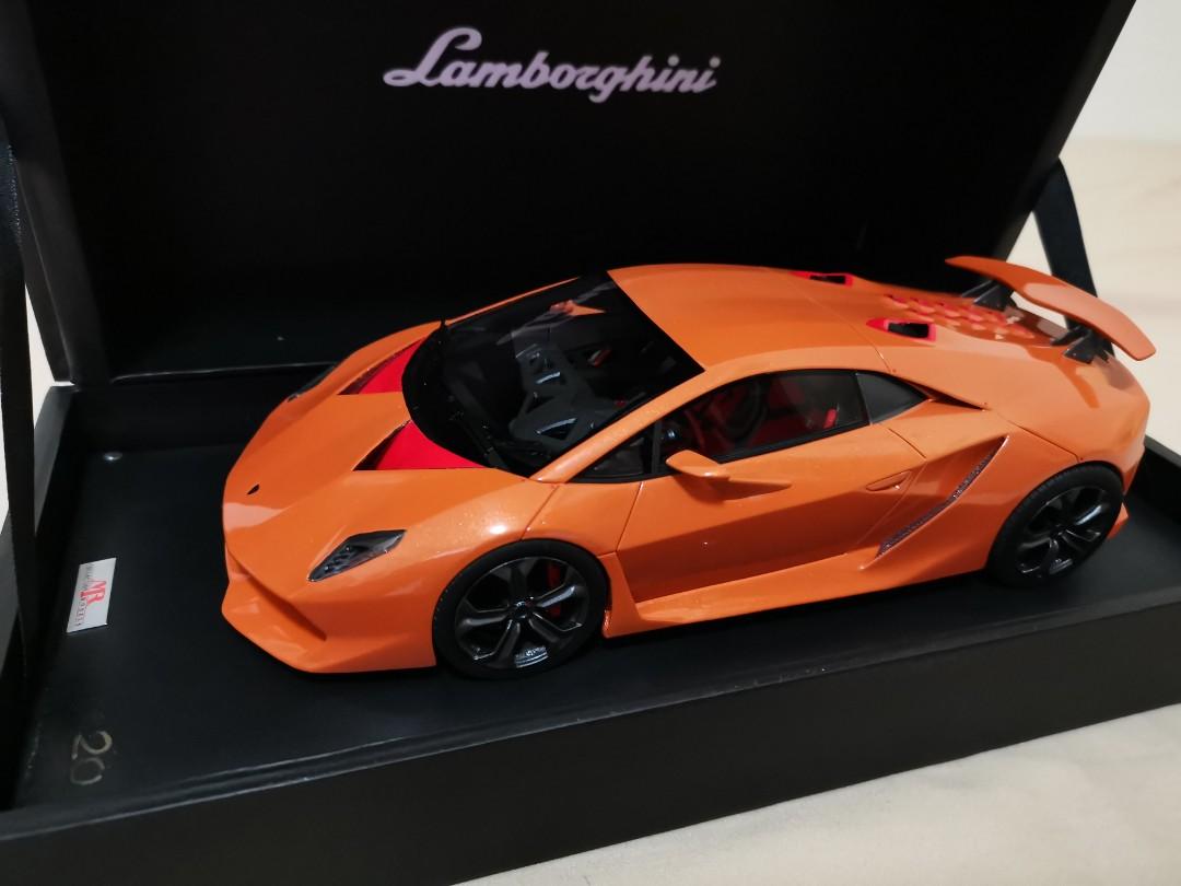 1 18 Mr Lamborghini Sesto Elemento Vintage Collectibles Vintage