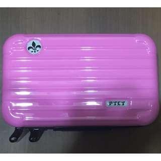 🚚 多功能迷你旅行箱造型收納包