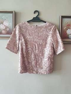 Dorothy Perkins Sequin Top