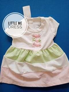 Dress bayi Little Me BRAND NEW!!
