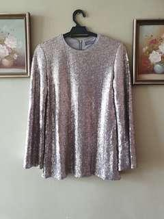 Poplook Sequin Blouse