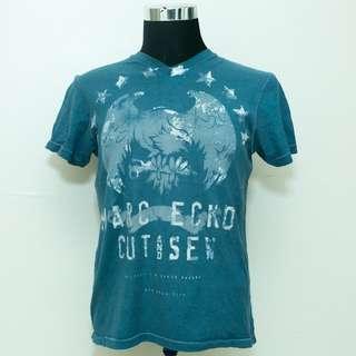 Authentic Marc Ecko Cut & Sew V Neck M Size Shirt