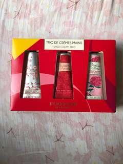 🚚 l'occitane trio de creme hand cream 🤲🏻✨
