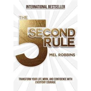 🚚 The 5 Second Rule by Mel Robbins