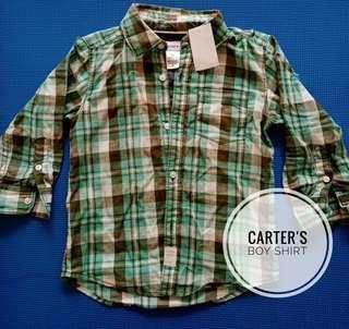 Kemeja Anak Carter's BRAND NEW!!