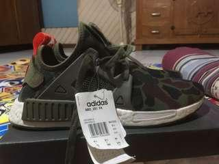 Sepatu Adidas nmd xr1 pk green duck camo