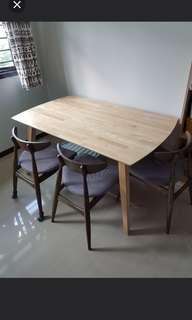 🚚 Dining Table Wood